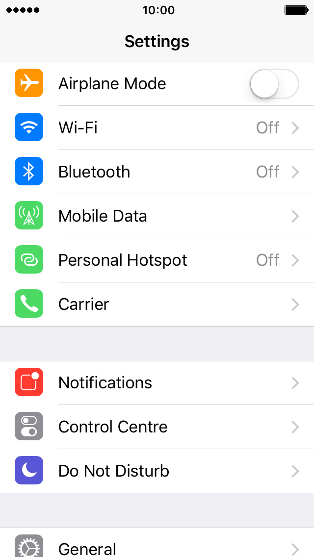 How do i get hotspot on my iphone 5s