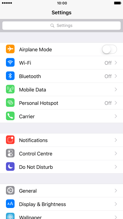 mobile hotspot not working iphone 7 plus