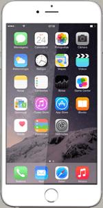 Apple iPhone 6 Plus iOS 8