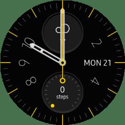 Samsung Galaxy Watch - Turn use of lock code on or off