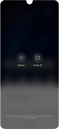 Huawei P30 Pro - Turn your phone on and off | Vodafone Ireland