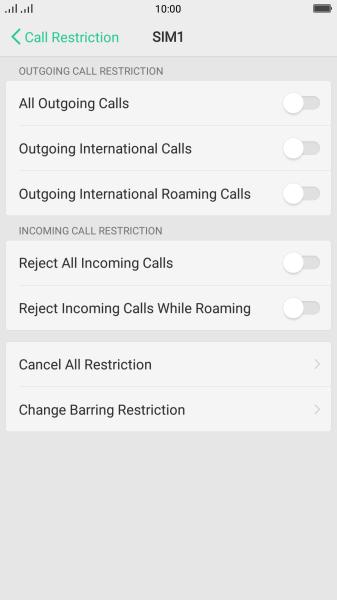 OPPO R11 - Turn call barring on or off | Vodafone Australia