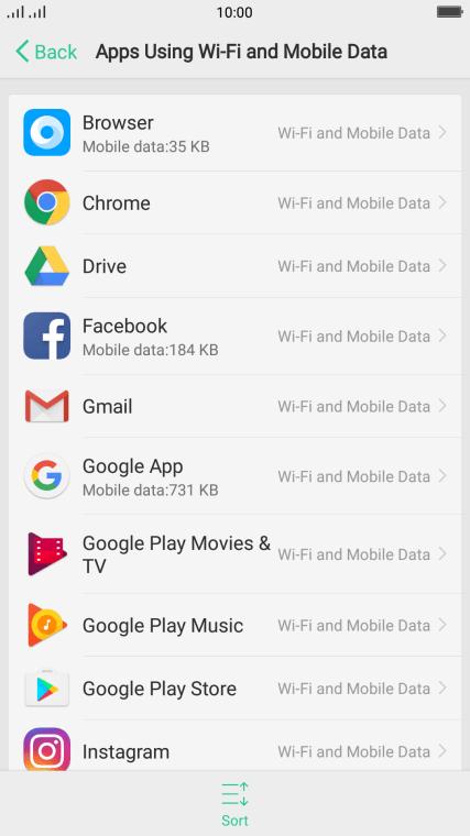 OPPO R11 - Turn mobile data on or off | Vodafone Australia