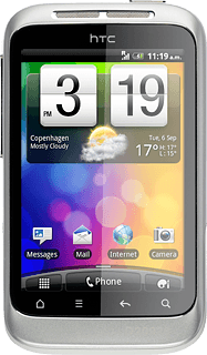 HTC Wildfire S - View SIM lock status | Vodafone Ireland