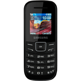 Samsung E1200 - Assign contact to speed dialling key | Vodafone Ireland