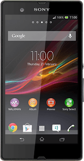 Sony Xperia Z - Check voice messages | Vodafone Ireland