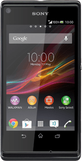 Sony Xperia L - Set up your phone for email | Vodafone Ireland