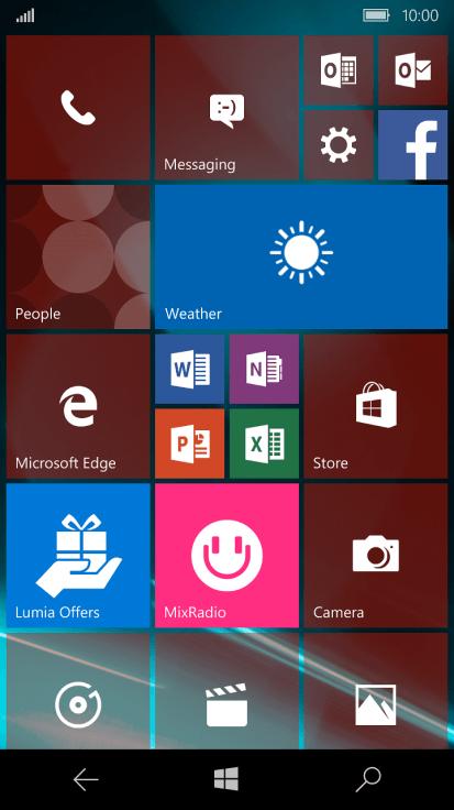 Microsoft Lumia 550 - Turn use of phone lock code on or off