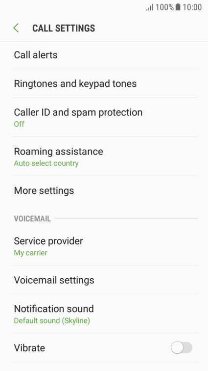 Samsung Galaxy J5 (2017) - Turn your own caller
