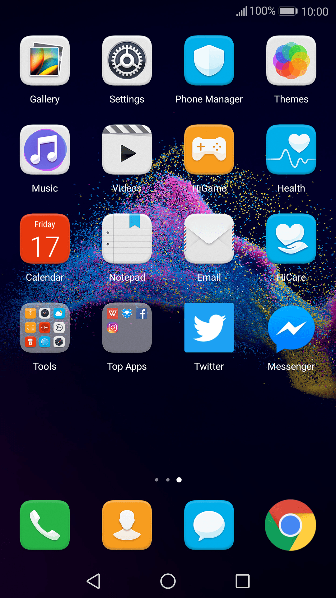Huawei p8 lite background data
