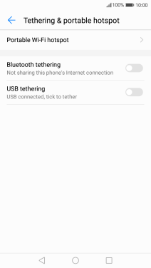 Huawei Y7 - Use your phone as Wi-Fi hotspot | Vodafone Ireland