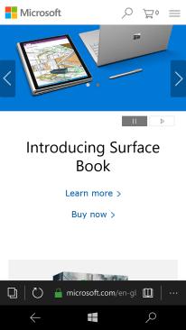 Microsoft Lumia 550 - Use internet browser   Vodafone Ireland