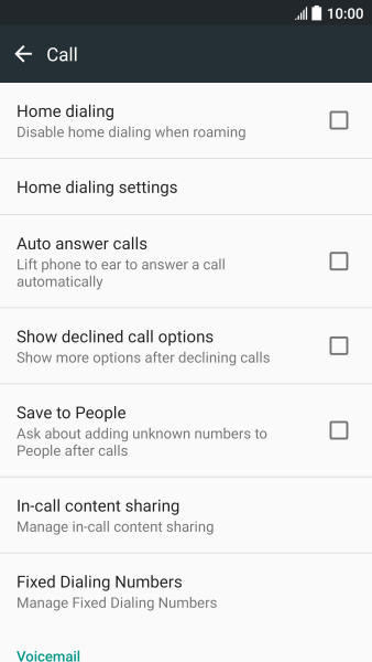 HTC U11 - Turn fixed dialling on or off | Vodafone Ireland