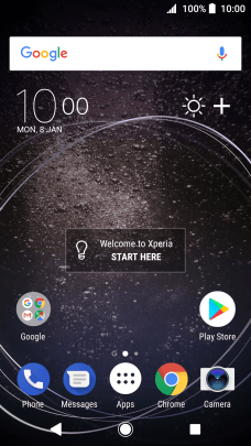 Sony Xperia XA2 - Turn GPS on or off | Vodafone Ireland