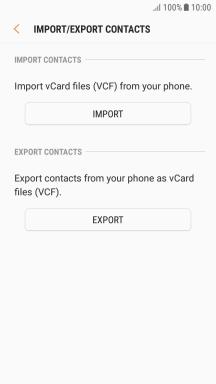 Samsung Galaxy J3 (2017) - Copy contacts between your SIM