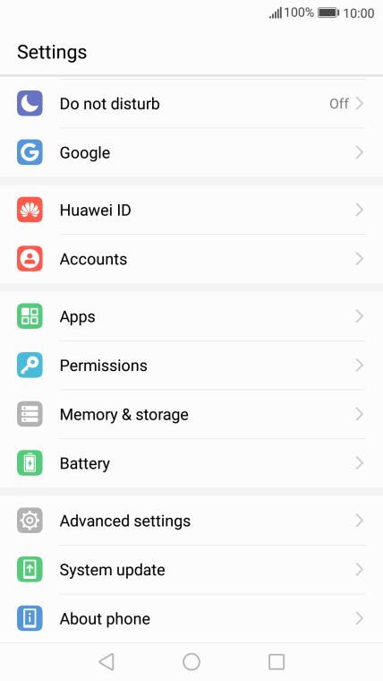 Huawei P8 lite 2017 - Update phone software | Vodafone Ireland