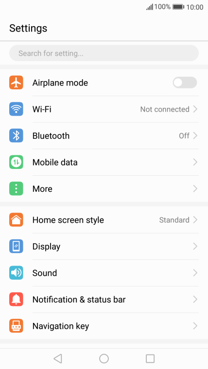 Huawei P8 lite 2017 - Troubleshooting - I can't use my