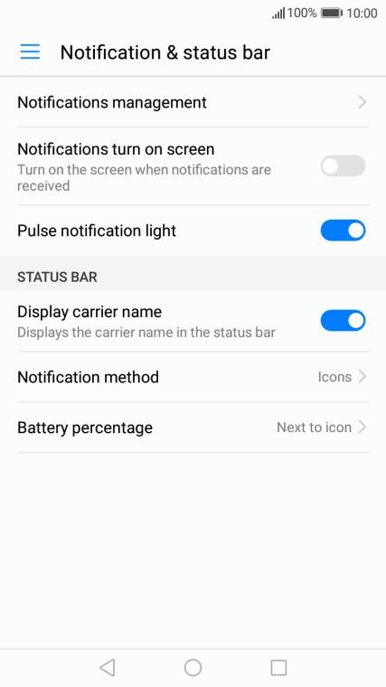 Huawei Y7 - Turn notifications on or off | Vodafone Ireland