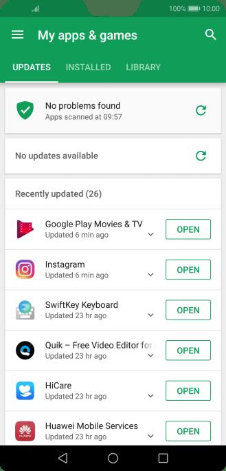 Huawei P20 Pro - Uninstall apps | Vodafone Ireland