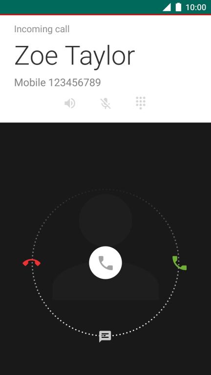 Vodafone Smart ultra 7 - Answer a call   Vodafone Ireland