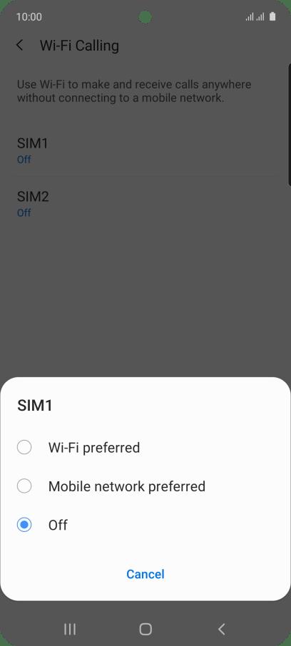 Samsung Galaxy A51 - Turn Wi-Fi calling on or off ...