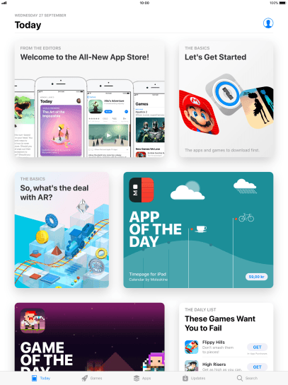 Apple iPad Pro 9 7 - Install apps from App Store   Vodafone New Zealand