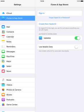 Apple iPad 4 - Activate Apple ID on your tablet | Vodafone New Zealand