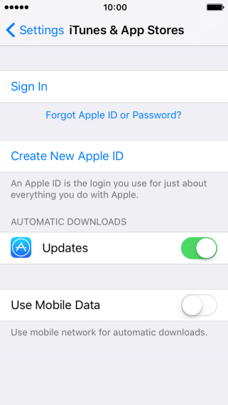 Apple iPhone SE - Activate Apple ID on your phone ...