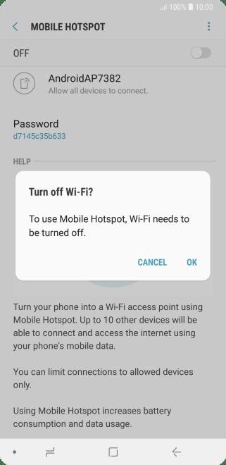 Mobile Hotspot Not Working Metropcs