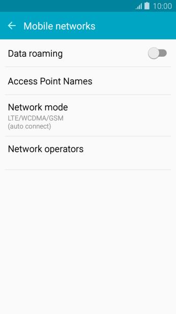 Samsung Galaxy J5 - Select network mode | Vodafone New Zealand