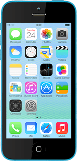 Apple iPhone 5c iOS 7