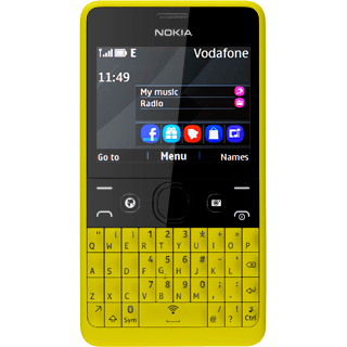 Nokia Asha 210 - Use tethering | Vodafone UK
