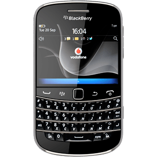 BlackBerry Bold 9900 - Turn your phone on and off | Vodafone