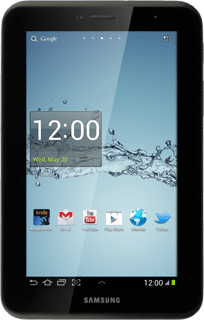 Samsung Galaxy Tab 2 7 0 - Answer a call | Vodafone Australia