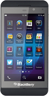 BlackBerry Z10 - Insert SIM and battery | Vodafone Australia