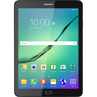 Samsung Galaxy Tab S2 9 7 - Set up your tablet for text