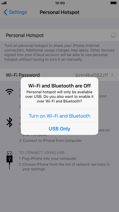 Apple iPhone 6s Plus - Use your phone as a personal hotspot
