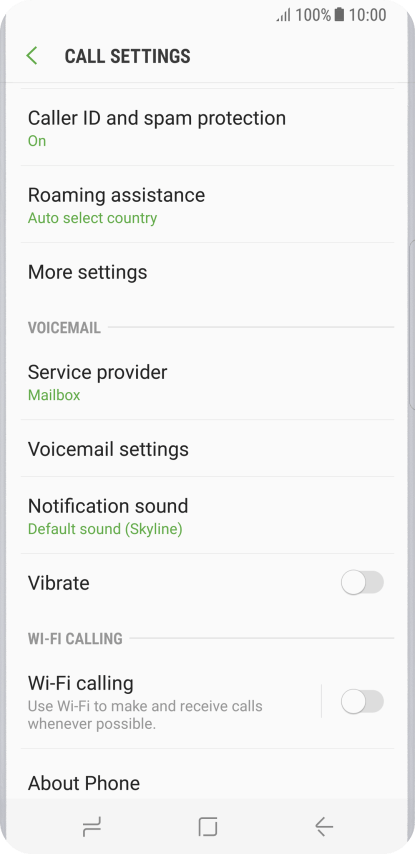 Samsung Galaxy S8 - Turn call barring on or off | Vodafone Australia