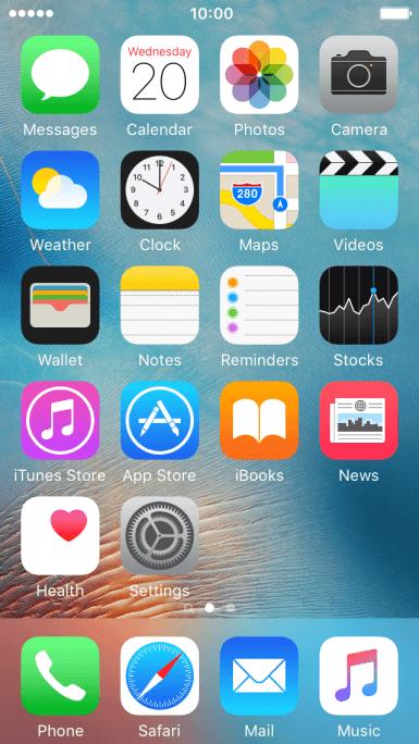 Apple iPhone SE - Turn data roaming on or off | Vodafone