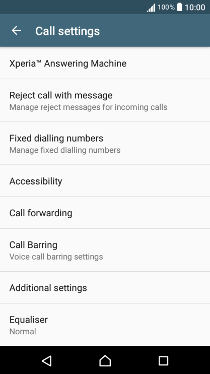 Sony Xperia XA - Troubleshooting - I can't receive any calls