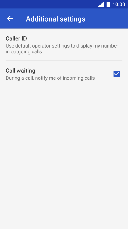 Nokia 6 - Turn your own caller identification on or off | Vodafone