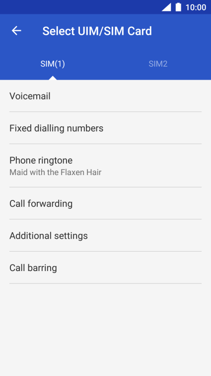 Nokia 6 - Turn your own caller identification on or off