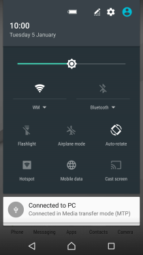Sony Xperia Z5 - Use tethering | Vodafone Australia