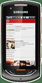 Samsung S5620 Onix