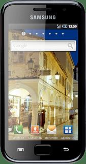 Samsung Galaxy S Gebruik De Telefoon Als Hot Spot