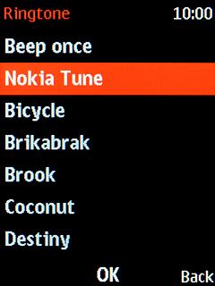 Nokia 3310 (2017) - Select ring tone | Vodafone Australia