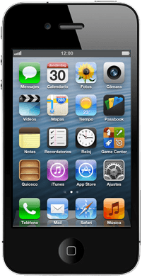 Apple iPhone 4 S con iOS 6