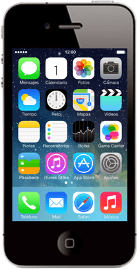 Apple iPhone 4 S iOS 7