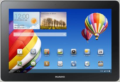 Huawei MediaPad 10 Link+ 4G - actualización de software - Orange