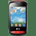 LG T310 PLUM